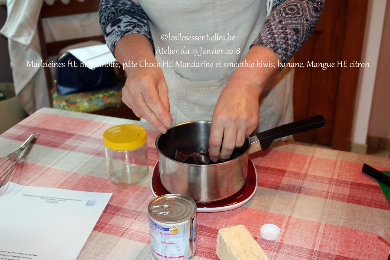 Atelier culinaire du 13 Janvier 2018