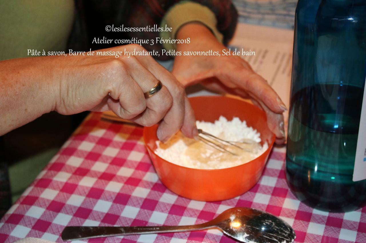 Pâte à savon