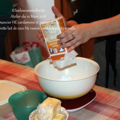 Atelier culinaire du 10 Mars 2018
