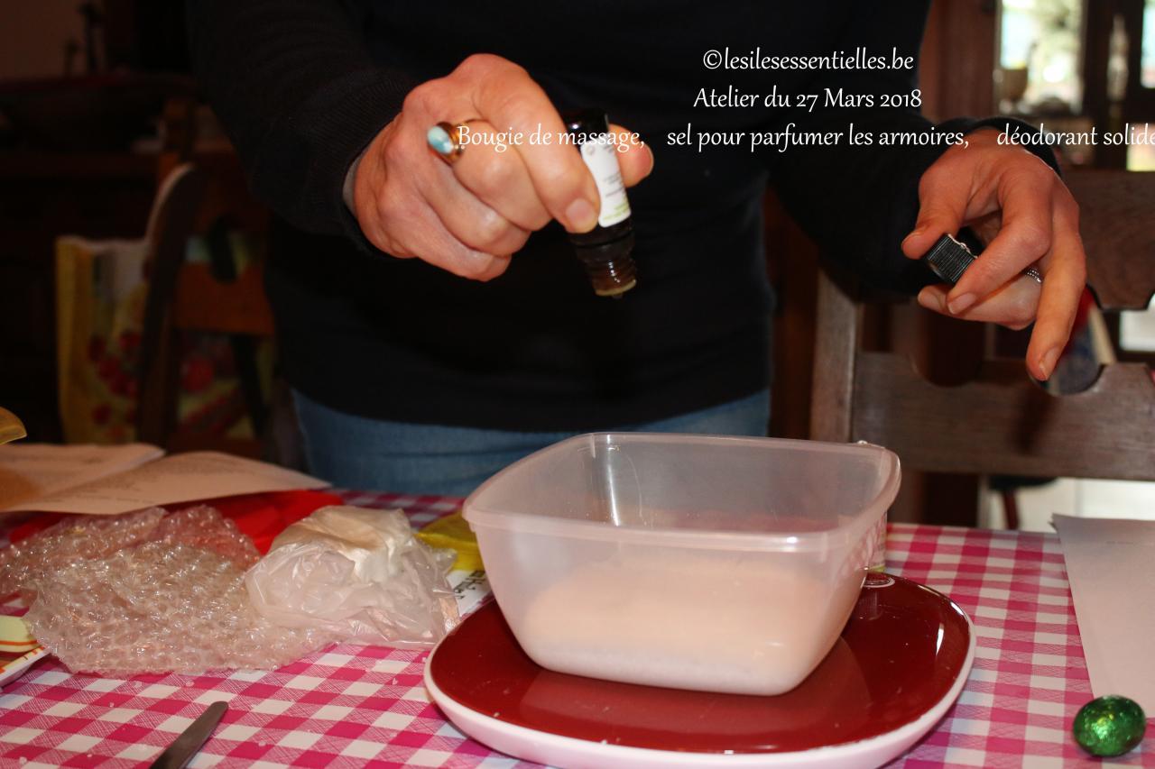 sel pour parfumer les armoires