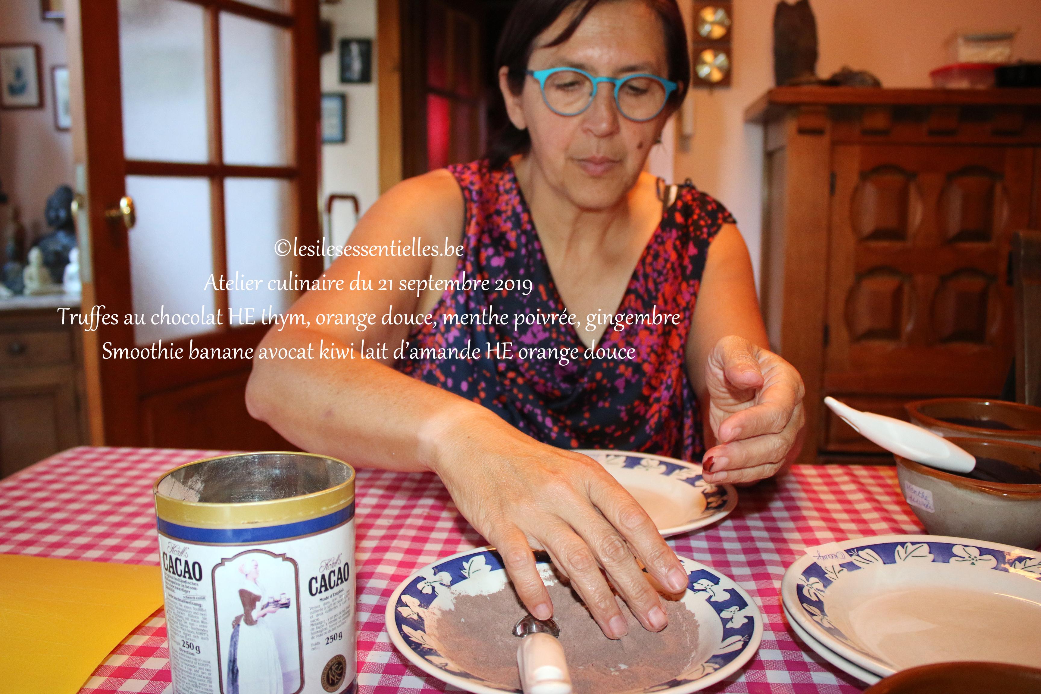 Atelier culinaire du 21 septembre 2019