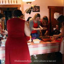 Atelier culinaire 20 mai 2017