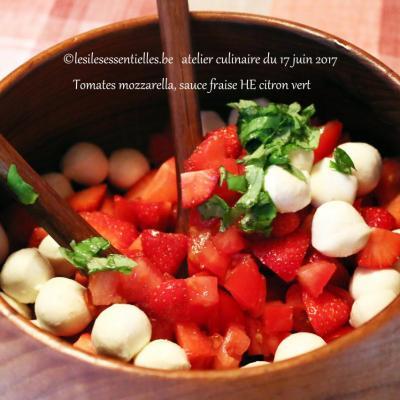 Atelier culinaire du 17 Juin 2017