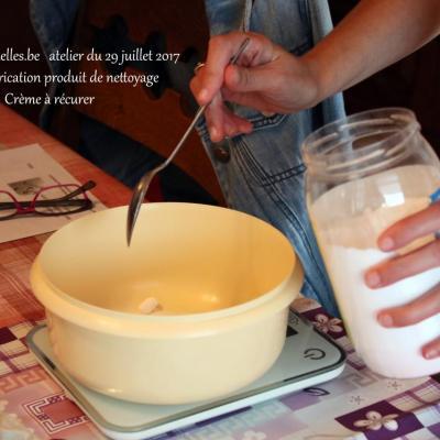 Crème à récurer